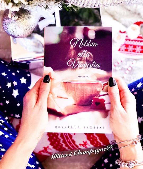 """Libro romanzo """"Nebbia alla vaniglia"""" di Rossella Santini consulente d'immagine"""