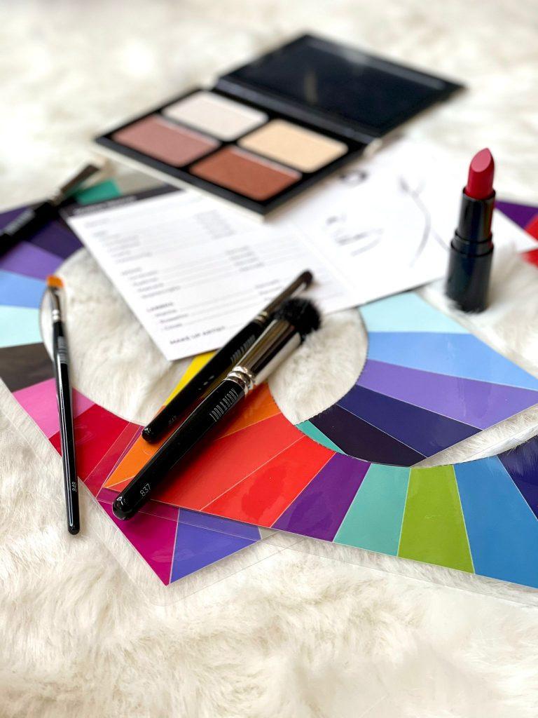 Percorso glamour armocromia, make up correttivo